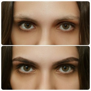 Девушка с выразительными глазами
