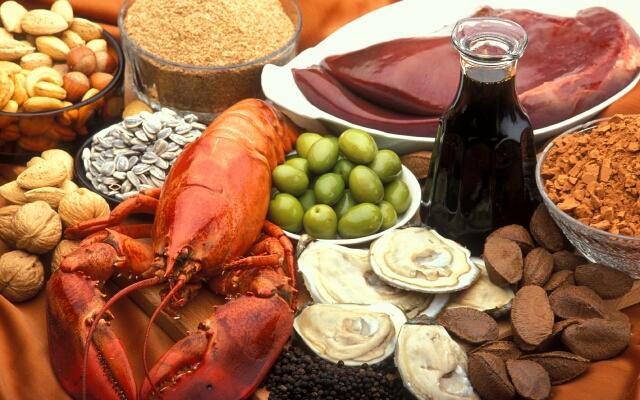 Продукты с содержанием витамина B12