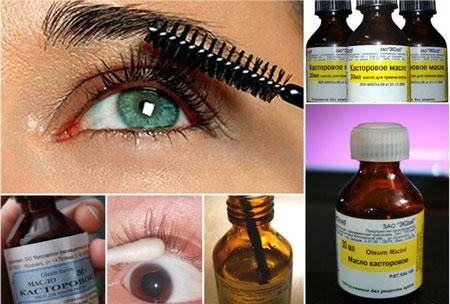 Репейное масло используется для того, чтобы отрастить брови