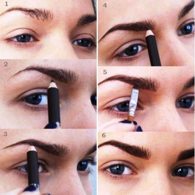 Пошаговый восточный макияж глаз 14